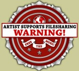 Artist support filesharing seal
