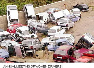 Women drivers meeting
